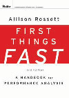 First Things Fast book cover